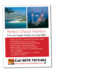 Advert – Perfect Choice Holidays